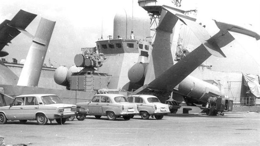 NATO kinh ngạc trước 'Quái vật cánh ngầm' của Liên Xô