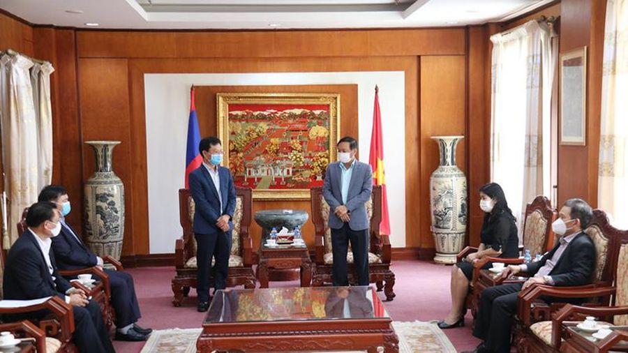 Liên doanh Viettel tại Lào ủng hộ Quỹ vaccine phòng Covid-19
