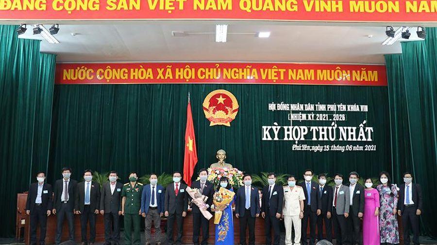 Hội đồng nhân dân tỉnh Phú Yên bầu các chức danh chủ chốt