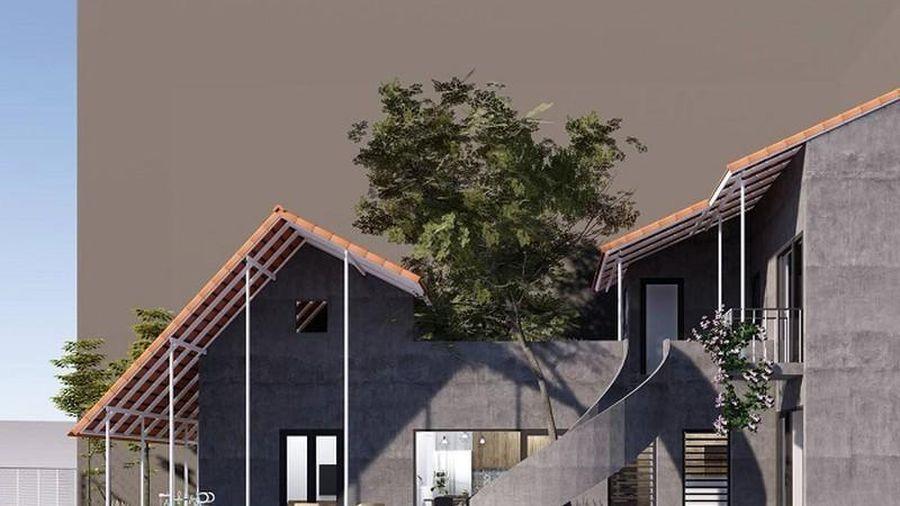 Ngôi nhà trát xi măng, xây hết 800 triệu của nhiếp ảnh gia Nghệ An