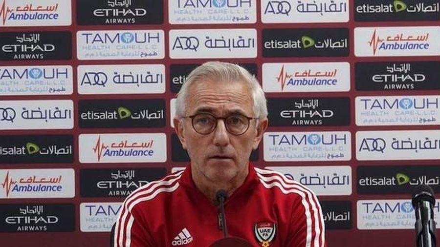 HLV Bert van Marwijk: 'UAE khác xưa, mạnh hơn so với lúc thua Việt Nam'