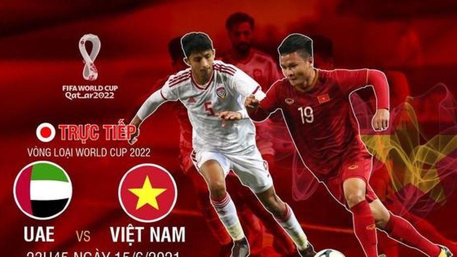 Thông tin mới nhất trước trận đấu Việt Nam vs UAE: Tuấn Anh bị loại