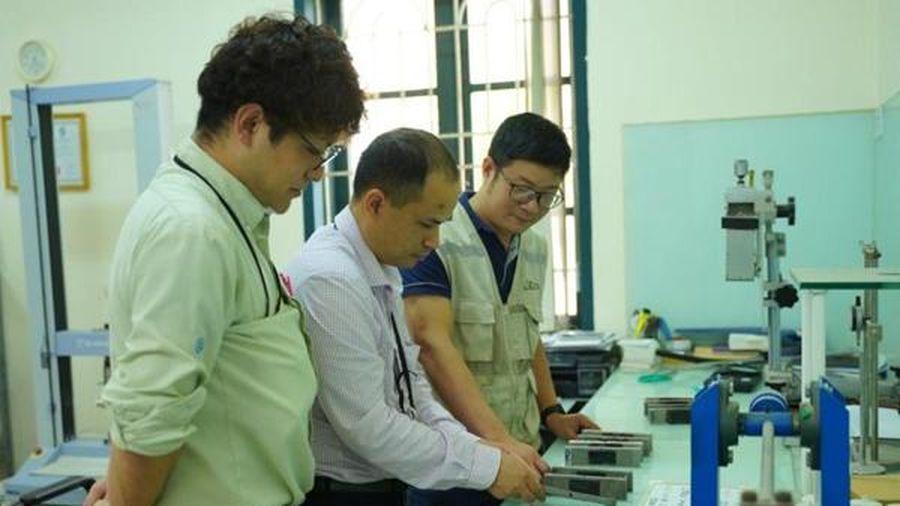 Ecoba Việt Nam và Haseko Corporation thí nghiệm đưa chuẩn vật liệu mới vào công trình