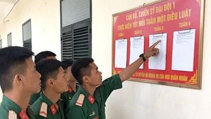 Phát huy vai trò của Quân đội trong phổ biến, giáo dục pháp luật