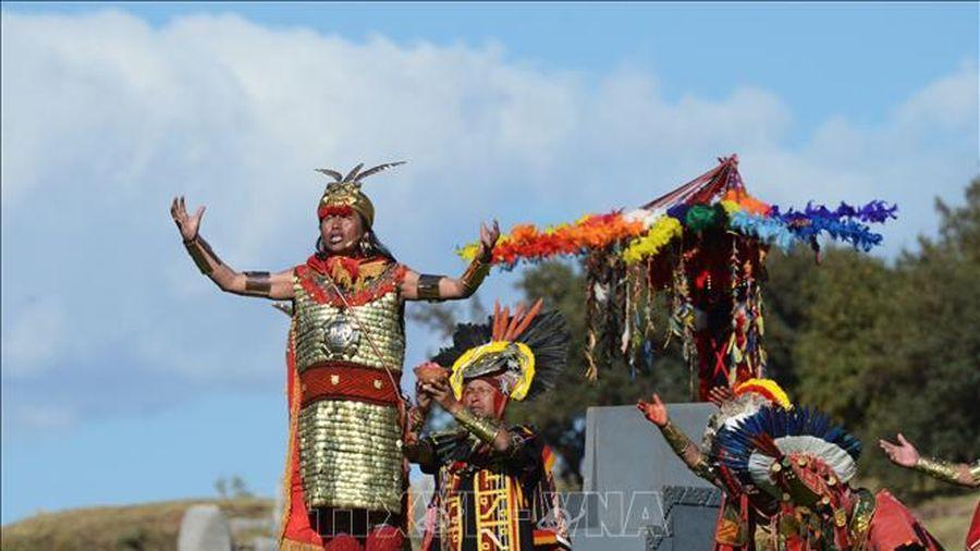 Peru nối lại hoạt động lễ hội thần Mặt Trời Inti Raymi