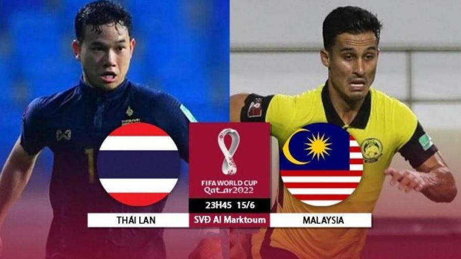 Nhận định, dự đoán kết quả Thái Lan vs Malaysia, vòng loại World Cup