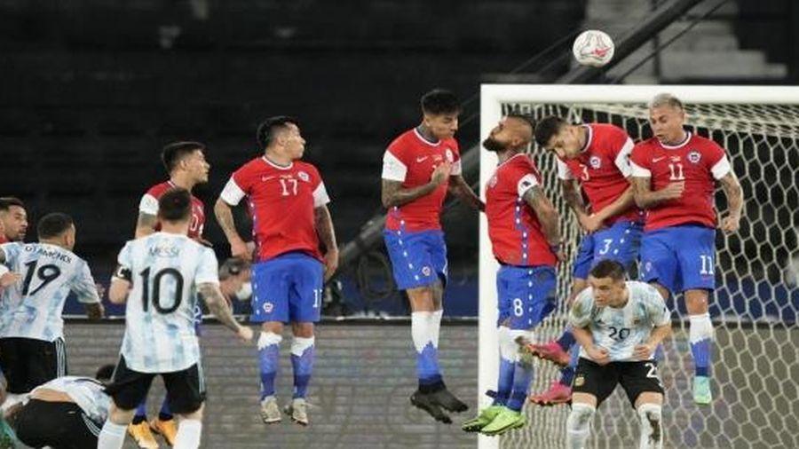 Argentina 1-1 Chile: Messi ghi bàn, Argentina vẫn không thể đánh bại Chile