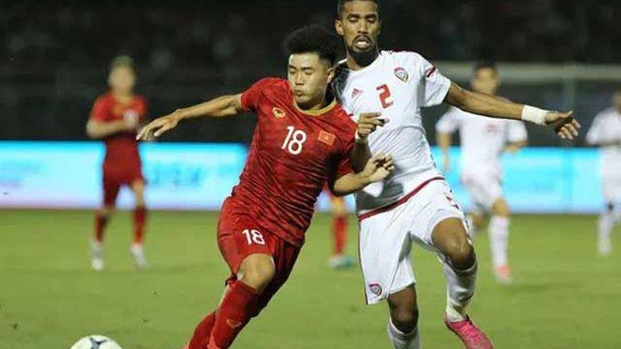 UAE 'vừa đá vừa lo' trước đội tuyển Việt Nam
