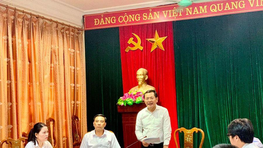 Phó Chánh án TANDTC Nguyễn Văn Du làm việc với TAND tỉnh Lào Cai