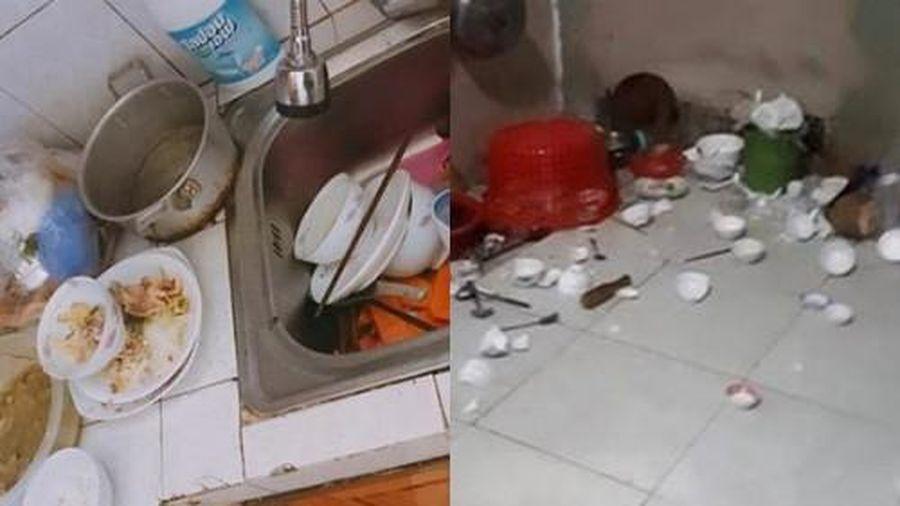 Phát khóc khi đi làm về thấy nhà chồng ăn sạch cơm lại phần nguyên đống bát bẩn