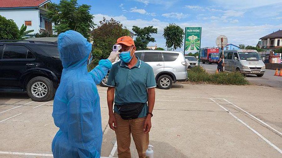 Thành lập chốt kiểm soát phòng, chống dịch bệnh Covid-19 trên tuyến đường Hồ Chí Minh