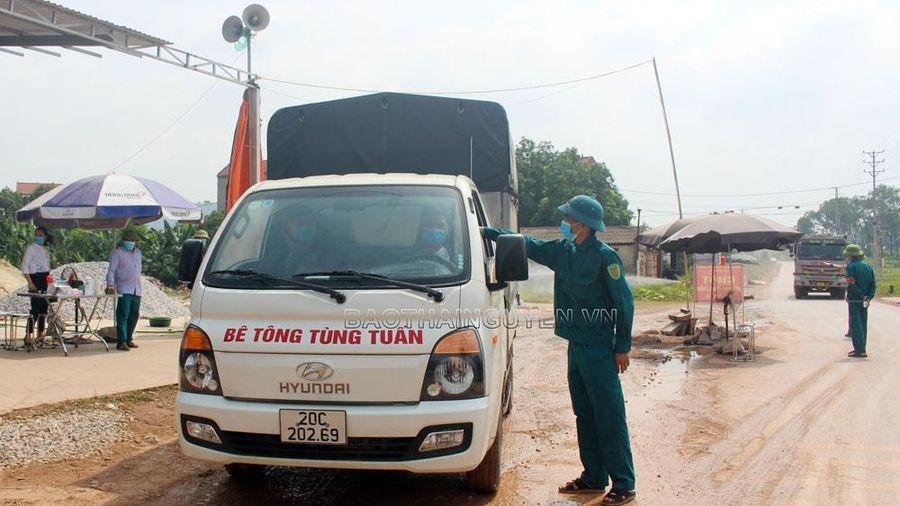 Thành lập 6 chốt kiểm soát phòng, chống dịch tại Khu công nghiệp Yên Bình