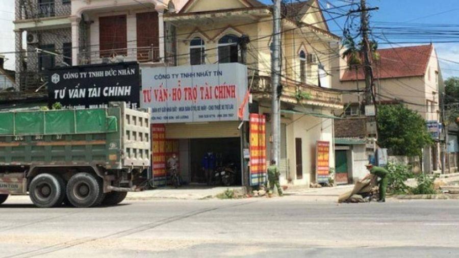 Nghệ An: Người phụ nữ tử vong dưới bánh xe tải sau tiếng động mạnh