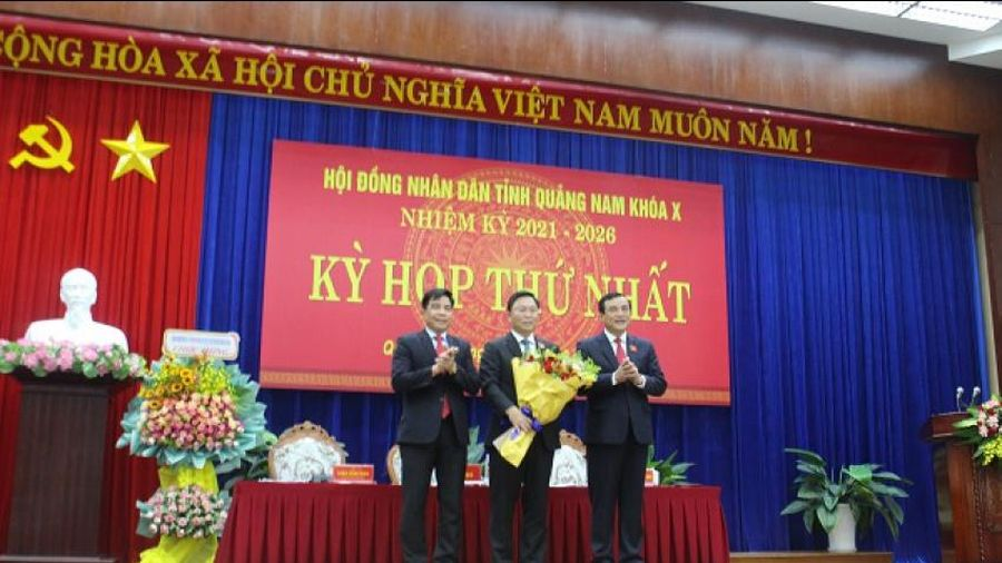 Bí thư Tỉnh ủy Quảng Nam giữ chức vụ Chủ tịch Hội đồng nhân dân tỉnh khóa X