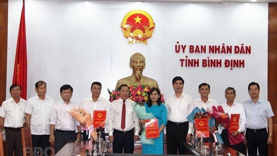Bổ nhiệm nhân sự, lãnh đạo mới Hòa Bình, Bình Định, Khánh Hòa