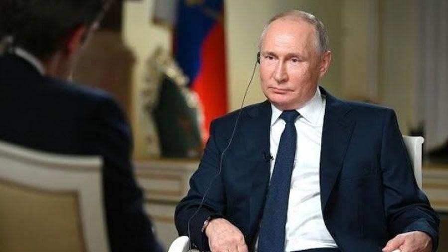 Ông Putin 'nhắc khéo' phóng viên truyền hình Mỹ