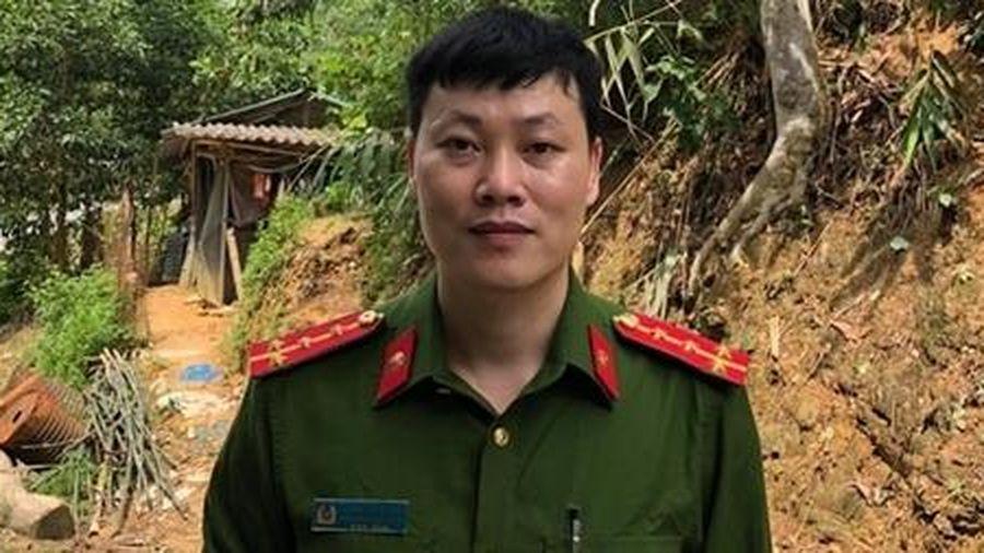 Lãnh đạo Bộ Công an gửi thư khen Đại úy Hoàng Ngọc Hào, Phó trưởng CAX Kiến Thiết