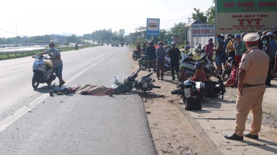 Liên tiếp xảy ra 2 vụ tai nạn giao thông ở Bình Thuận khiến 2 người tử vong