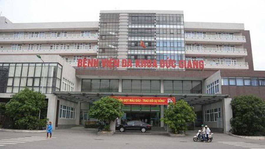 Hà Nội: Nhân viên kế toán Bệnh viện Đa khoa Đức Giang dương tính SARS-CoV-2