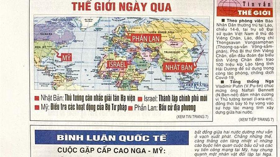 Báo Nhân Dân thay đổi cách phiên âm tên riêng nước ngoài