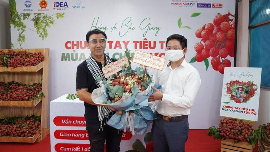 Livestream 90 phút, Bưu chính Viettel tiêu thụ 161 tấn vải thiều Bắc Giang