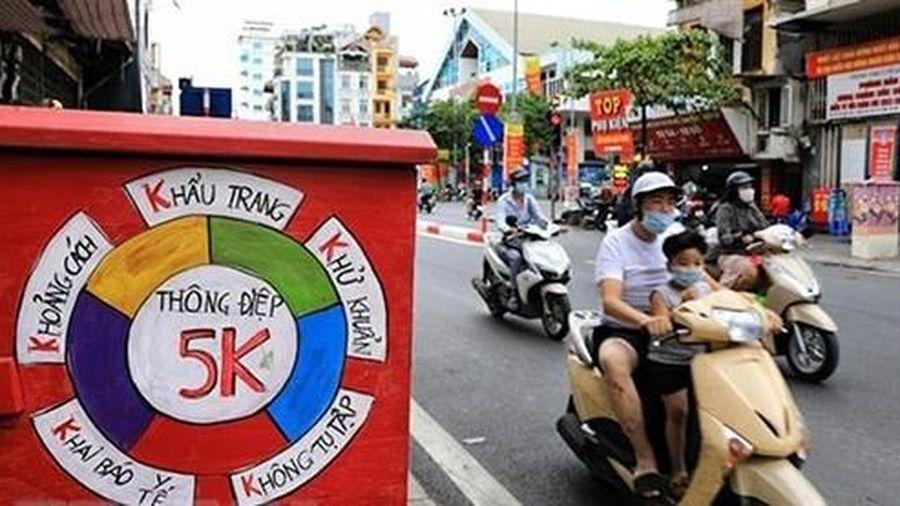 Hà Nội phát động cuộc thi trực tuyến 'Tìm hiểu pháp luật phòng, chống COVID-19'