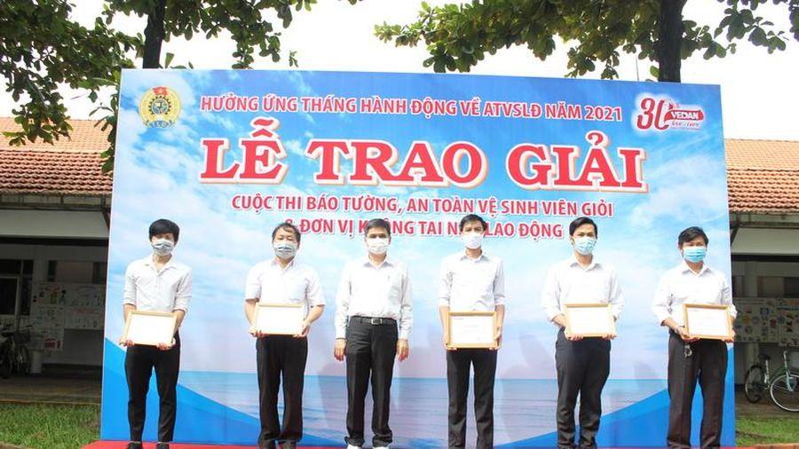 Vedan trao giải các hoạt động Tháng An toàn vệ sinh lao động
