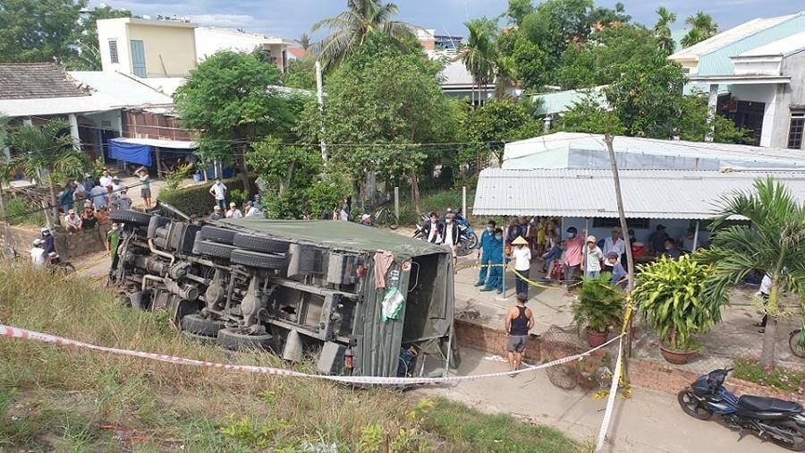 Ô tô của Quân khu V lao xuống vực, hai người tử vong