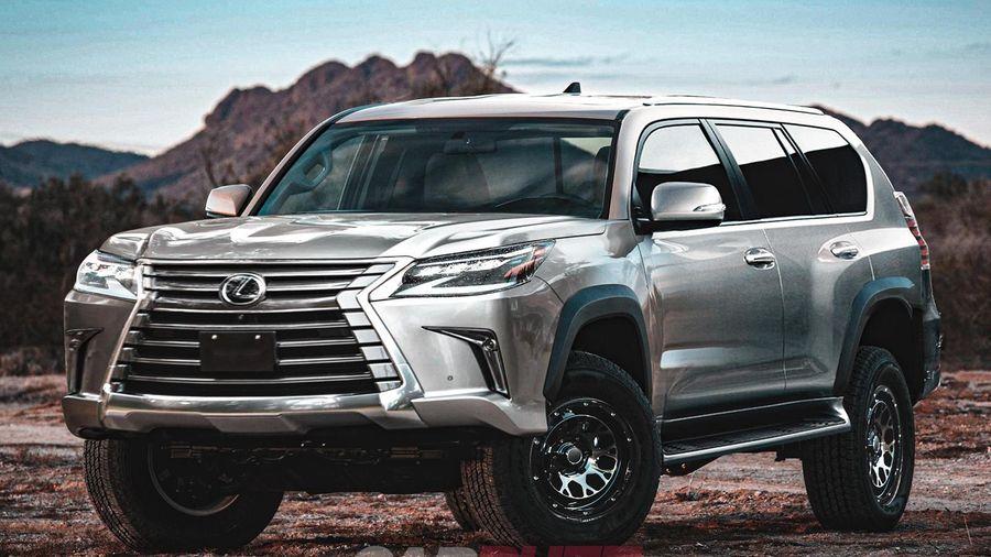 Lexus sẽ cho ra mắt chiếc SUV đầu bảng LX 600 thay thế LX 570?