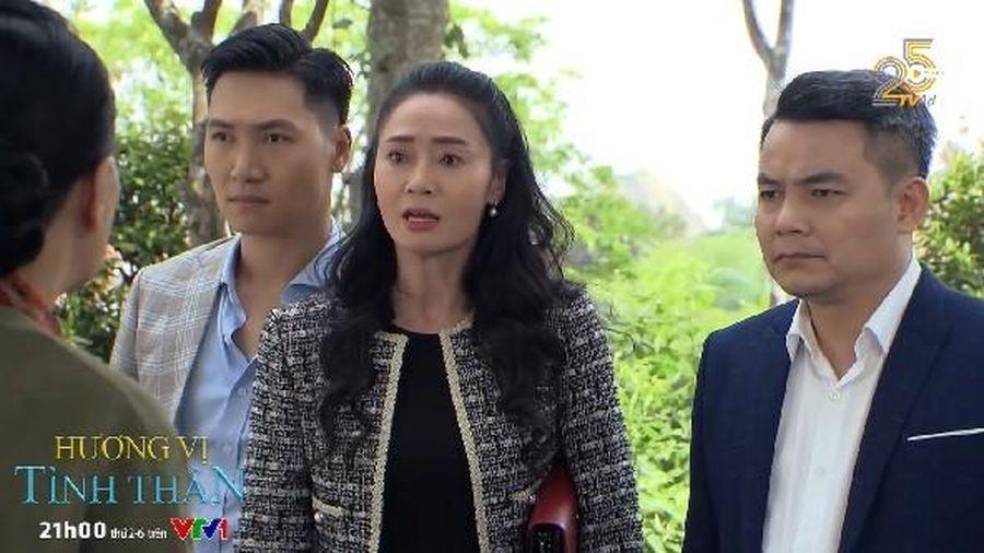 'Hương vị tình thân' tập 43: Bà Xuân yêu cầu họp gia đình gấp vì lo Thy có thai với Huy