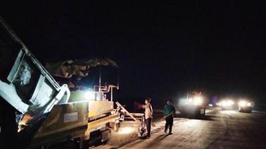 Tăng cường thi công bảo đảm tiến độ cao tốc Trung Lương - Mỹ Thuận