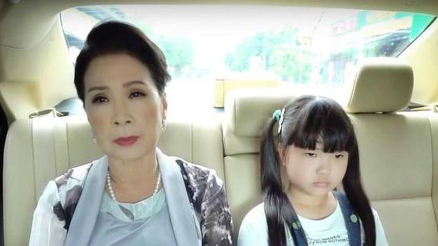 NSND Kim Xuân đánh dấu sự trở lại với 'Công chúa nhỏ của ngoại'