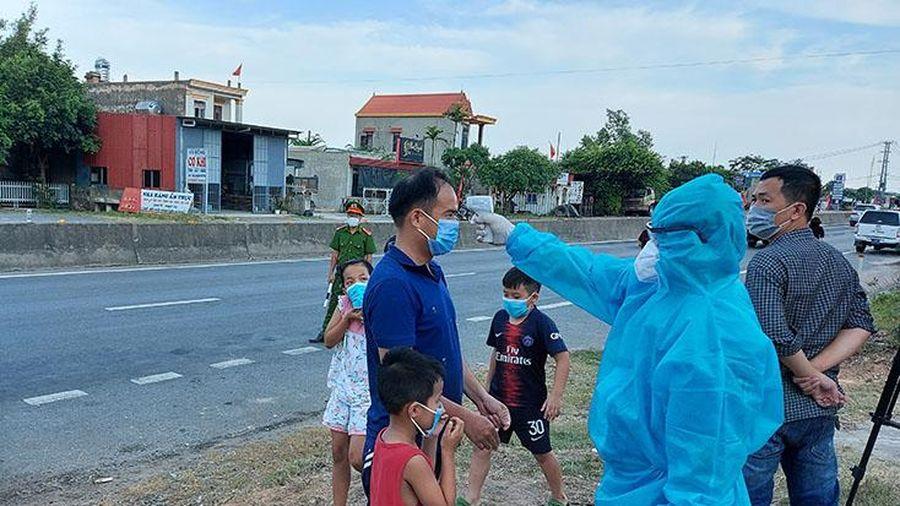 Quảng Bình: Lập chốt kiểm soát 24/24 phòng, chống dịch bệnh Covid 19