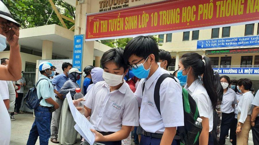 'Cải tiến phương pháp xét nghiệm SARS-CoV-2' vào đề thi môn Toán ở Đà Nẵng