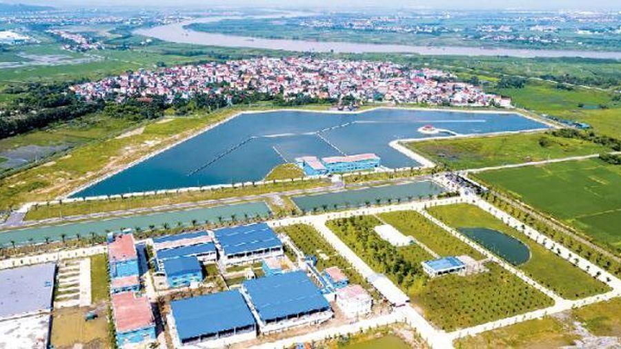 Tiến độ các dự án phát triển nguồn cung cấp nước sạch cho thành phố Hà Nội ra sao?