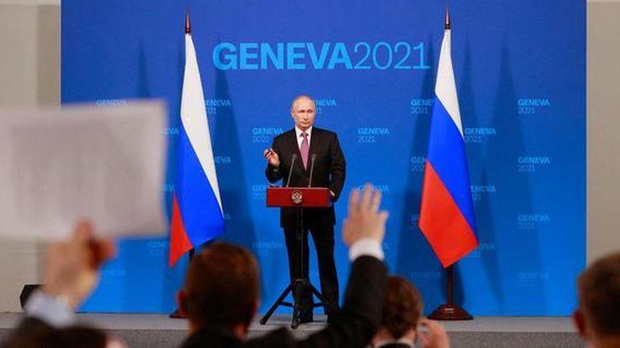 Hội đàm kết thúc sớm hơn dự kiến, Tổng thống Nga Putin họp báo tiết lộ nhiều thông tin quan trọng