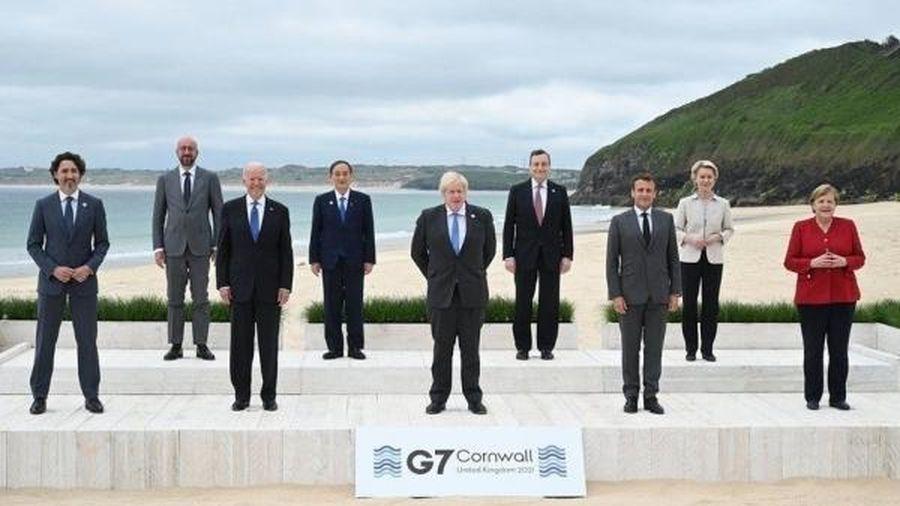 G7: Kế hoạch mới về mục tiêu không phát thải ròng