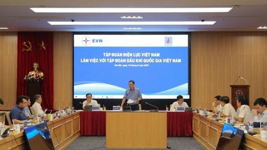 Thúc đẩy triển khai các dự án hợp tác giữa Petrovietnam và EVN