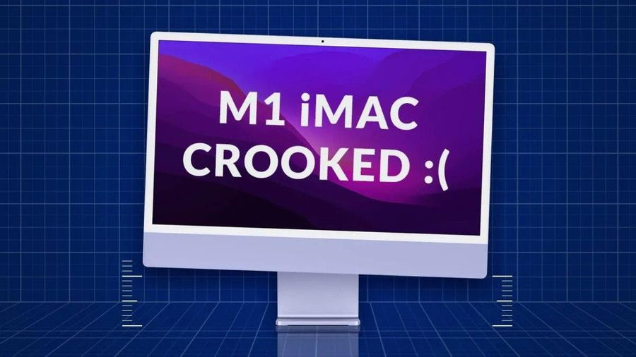 Người dùng phản ánh iMac M1 bị nghiêng