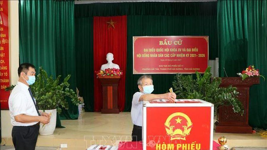 Hải Dương: Tỷ lệ cử tri đi bầu cử đạt 99,67%