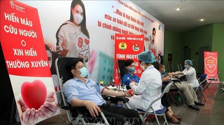 Lan tỏa tinh thần hiến máu tình nguyện qua chiến dịch 'Giữ nhịp đập trái tim'