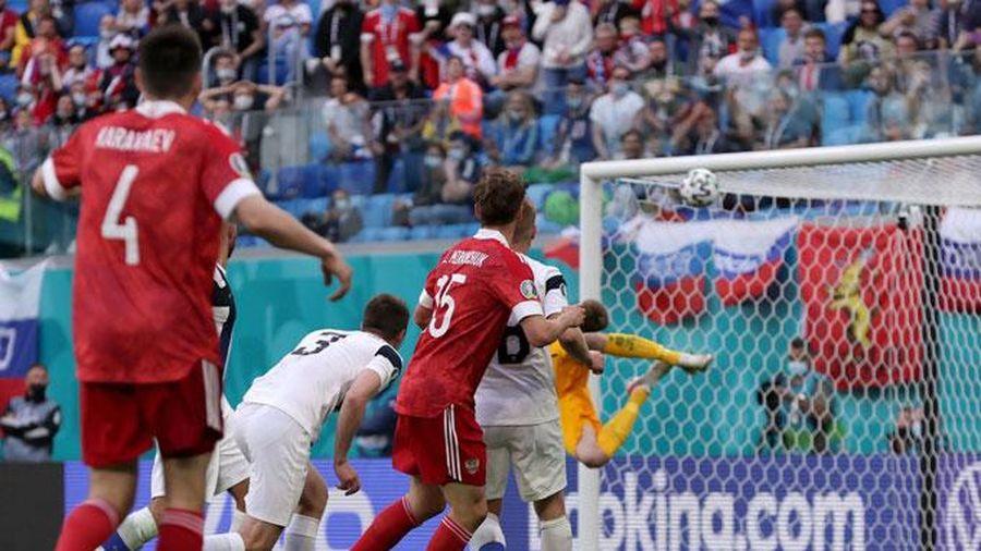 Kết quả Nga 1-0 Phần Lan: 'Gấu Nga' có 3 điểm quan trọng