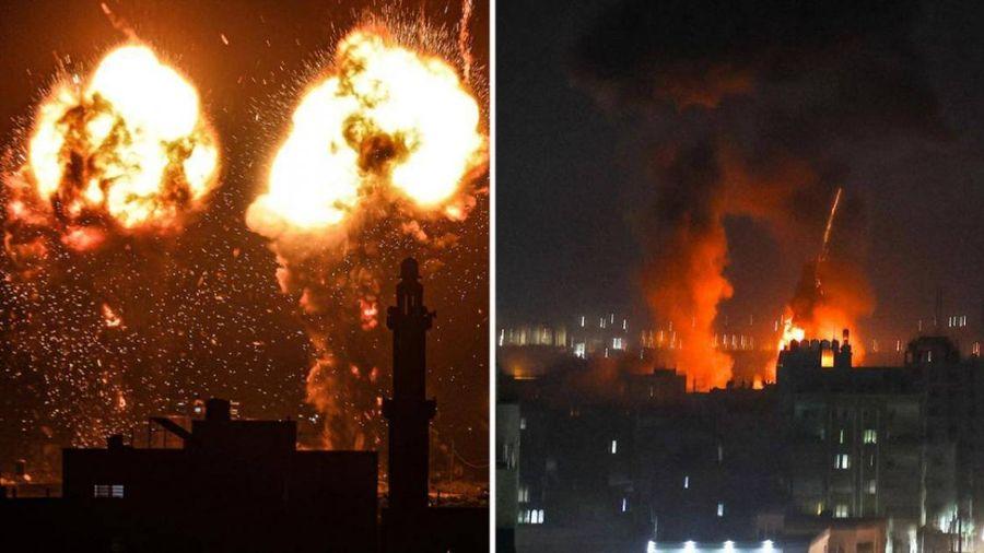 Israel tấn công Dải Gaza trở lại sau 11 ngày ngừng bắn
