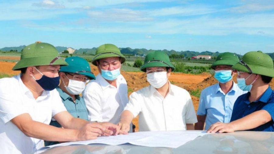 Chủ tịch tỉnh Ninh Bình 'thúc' tiến độ GPMB cao tốc Mai Sơn - QL45