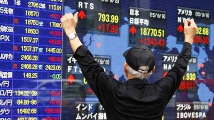 Chứng khoán Châu Á đảo chiều vì chờ đợi tin tức lãi suất từ FED