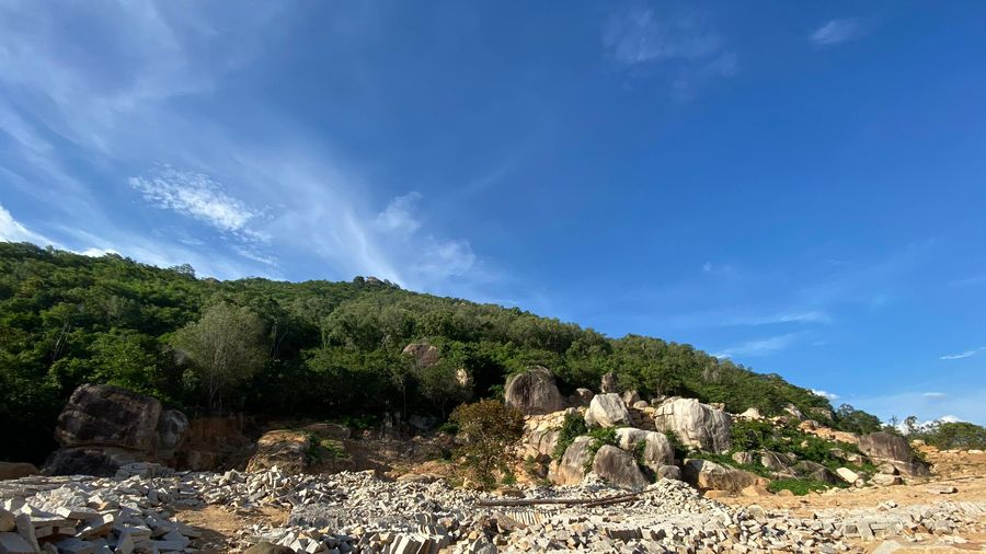 5ha đất trên núi Thị Vải bị khai thác trái phép