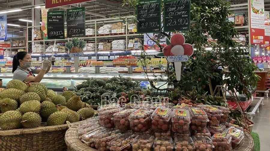 Vải thiều Bắc Giang tiêu thụ thuận lợi tại 'Hội chợ trái cây nhiệt đới'