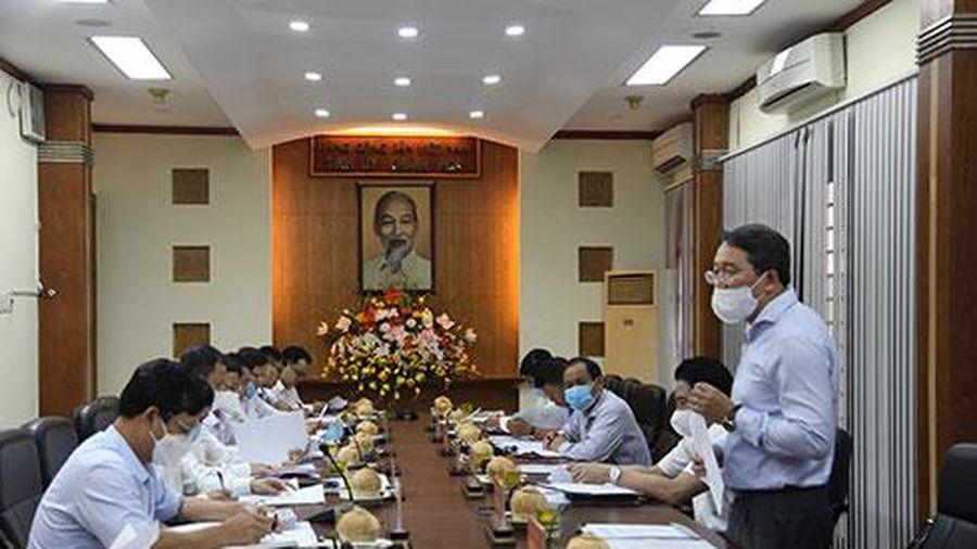 Đoàn công tác của Tòa án nhân dân Tối cao làm việc với Ban Thường vụ Tỉnh ủy Khánh Hòa