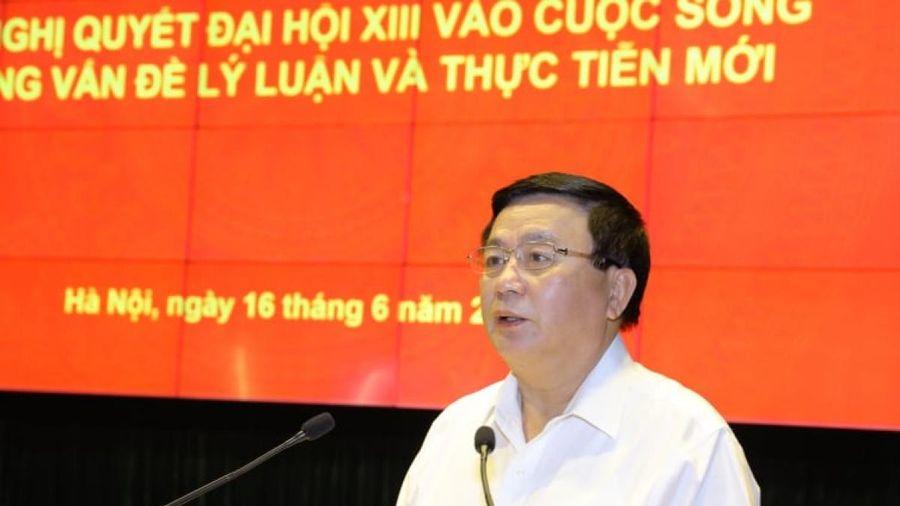 Ông Nguyễn Xuân Thắng: Khát vọng phát triển đất nước phồn vinh, hạnh phúc là rất rõ ràng