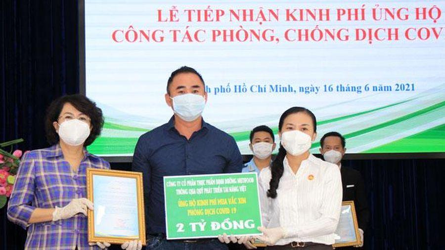 Thành phố Hồ Chí Minh tiếp nhận thêm hàng chục tỷ đồng ủng hộ phòng, chống dịch Covid-19